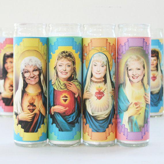 golden girls candles.