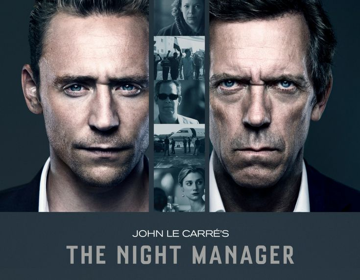 Tom Hiddleston Hugh Laurie The night Manager