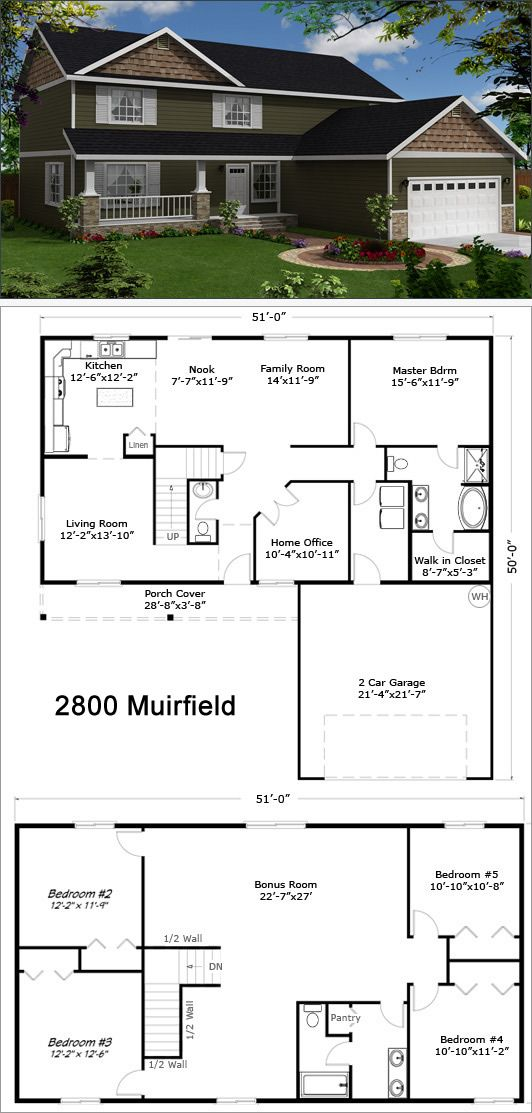 17 best two story floor plans images on pinterest floor plans reality homes inc malvernweather Image collections