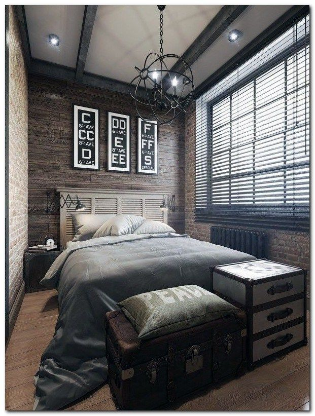 Industrial Bedroom Designs (11)   The Urban Interior