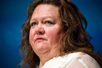 """Mining billionaire Gina Rinehart has proposed a new way to broaden Australia's tax base - allowing convicted criminals to buy their way out of jail."" - that's right, BUY their way out of jail."
