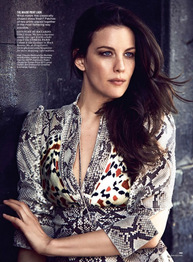 Glamour Editorial July 2014 - Liv Tyler by Matthew Brookes