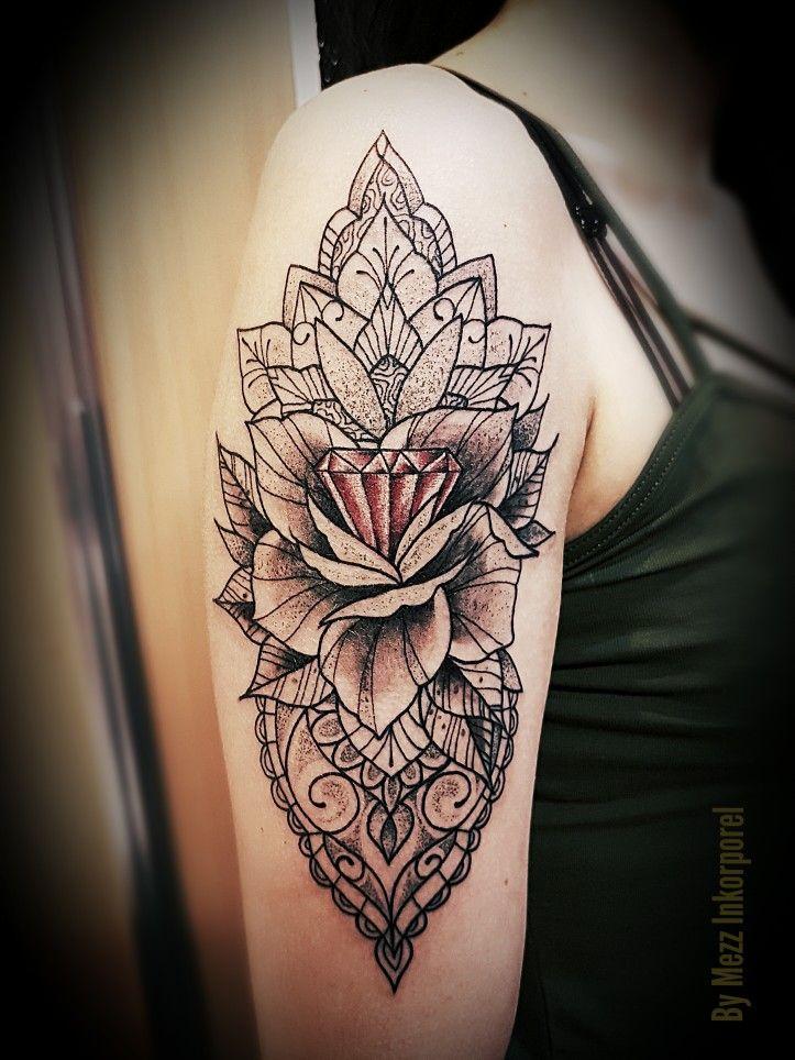 Mezz Eric Inkorporel Miramas Tatouage Tattoo Lion Indian