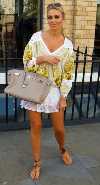 Alex Curran gives me bag envy