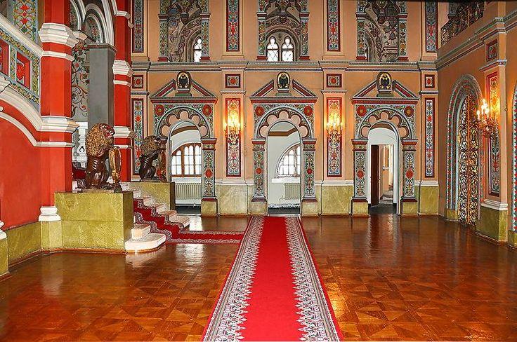 Terem Palace. Kremlin. Moscow