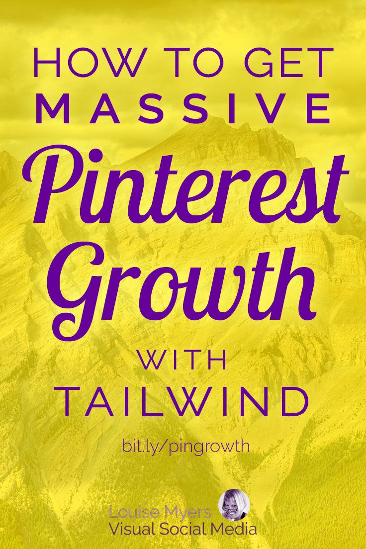 Pinterest Marketing Tips for Business: Get MORE Pinterest followers and website traffic with Tailwind! Click to blog to learn how to use Tailwind for massive Pinterest growth. It's so easy! #pinteresttips #marketingtips