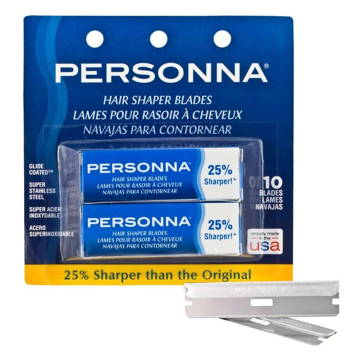 PERSONNA Shaper Blades 60-0226 Blister 10-Pack 1 Count: Amazon.ca: Beauty