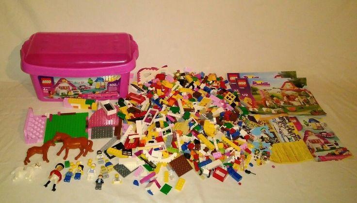 LEGO Belville & Girls Pink 4 POUNDS MIXED BULK LOT W/ BIN MINIFIGS ACCESSORIES!!