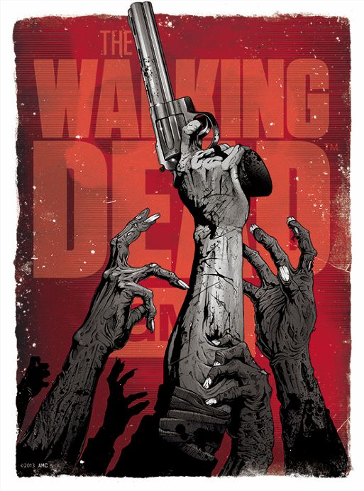 Cool Collection of Poster Art for THE WALKING DEAD — GeekTyrant