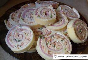Majonézes sajttekercs Witch konyhájából