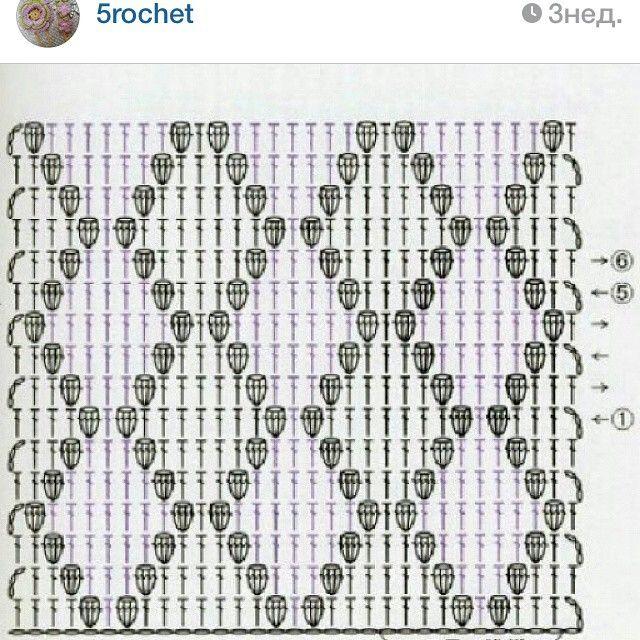 Mejores 937 imágenes de patrones crochet en Pinterest   Patrones de ...