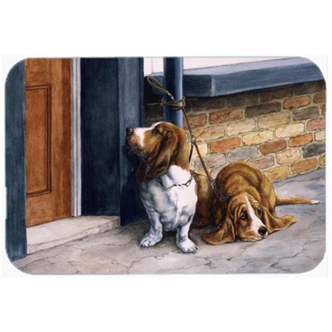 Carolines Treasures Bdba0016cmt Bassets Basset Hound Kitchen Or Bath Mat 44 20 X 30 Basset Hound Basset Basset Hound Puppy