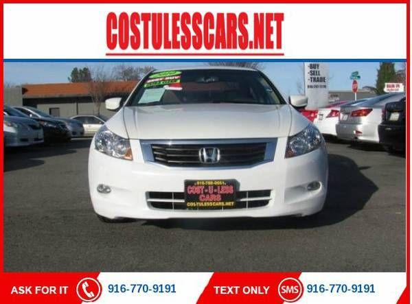 2010 Honda Accord EX-L V6 w/Navi 4dr Sedan w/Navi ===>$1500 DOWN (916)770-919
