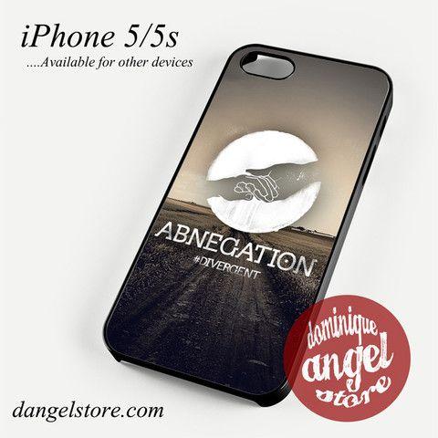 Divergent Abnegation Phone Case for iPhone 4/4s/5/5c/5s/6/6s/6 plus