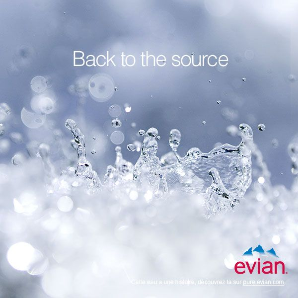 evian - back to the source #evian #liveyoung