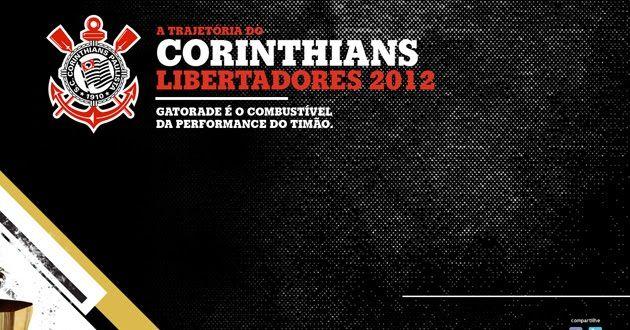 Brincando com HTML5, a Gatorade resume a trajetória  do Corinthians na Copa Libertadores. Junto de momentos importantes, entram estatística...