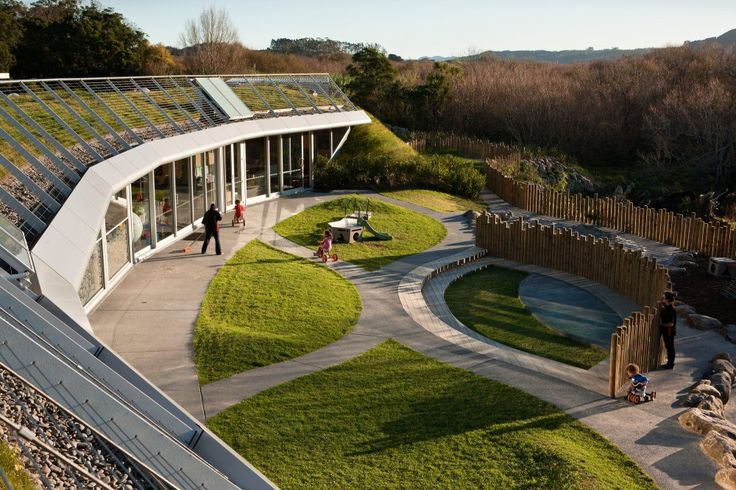 Te Mirumiru / Collingridge & Smith Architects - This design is an early childhood building for a Maori tribe (Ngāti Hine) in Kawakawa, New Zealand. The brief called for a building which would not only accommodate the clients tamariki (children) but teach them about their culture and customs on a daily basis whilst having a minimal impact on the environment.