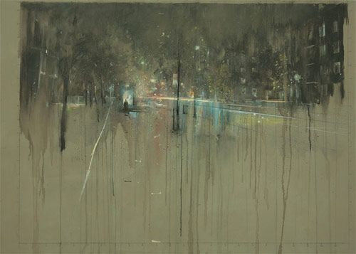 Nathan Ford - Love his urban landscapes!