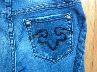 Love the stitching on the pocket! - Express Rerock Jeans