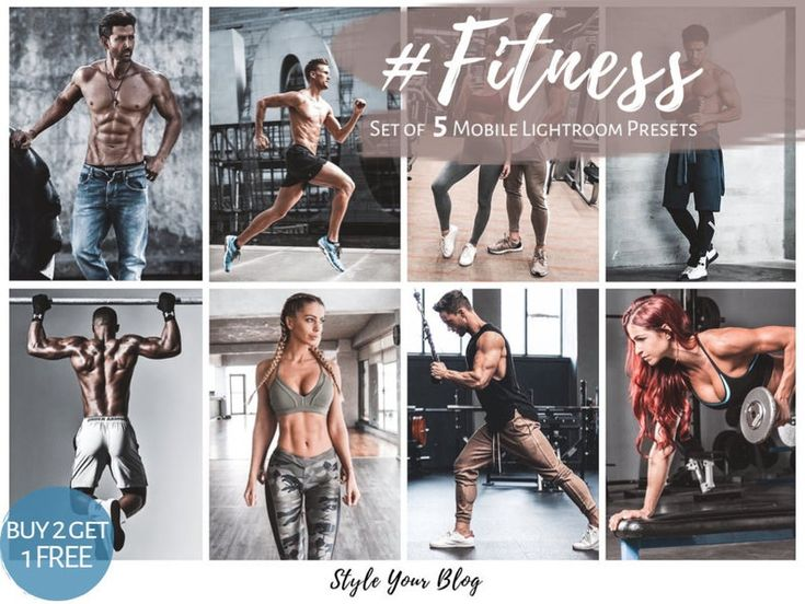16 Fitness Gym Presets Lightroom Desktop Mobile Workout Etsy In 2021 Gym Workouts Fitness Photoshoot Fitness