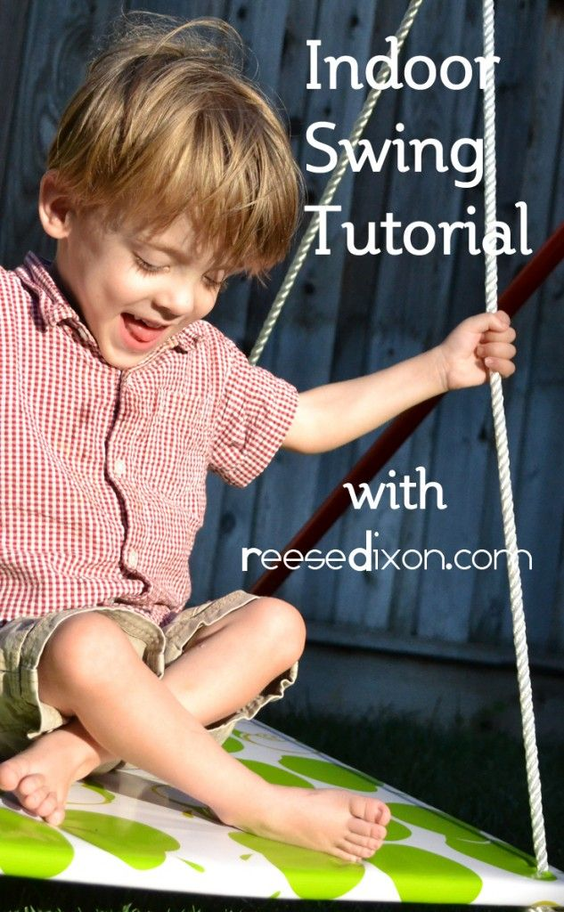 "Great solution when an ASD student needs ""grounding"" to prevent meltdowns Indoor Swing Tutorial"