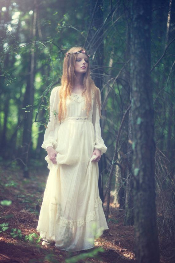 Hippie Or Bohemian Wedding Dresses s Boho Wedding Dress Hippie