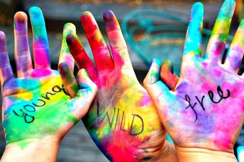 Young Wild FreeWild And Free, Young Wild Free, Friends, Quotes, Hands, Colors, Painting Colours, Youngwild, Wild One