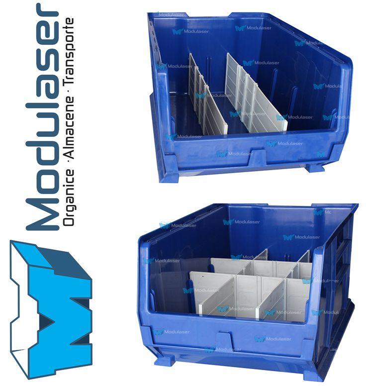Cajas organizadoras plásticas apilables, ideales para realizar picking intensivo, organizar, almacenar, clasificar y exhibir tus mercancías. Facilitan la localización de tus inventarios, optimizan tus espacios y mejoran la operación logistica de tu empresa. Variedad en tamaños y colores. Te brindamos asesoría personalizada, Te esperamos! Tel: 4145213 en Bogotá - WhatsApp: +57 318 4320023 -- +57 317 5022118 -- +57 3175130156. #Modulaser