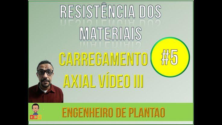 [Resistencia dos Materiais]: Tensao Normal - carregamento axial 3