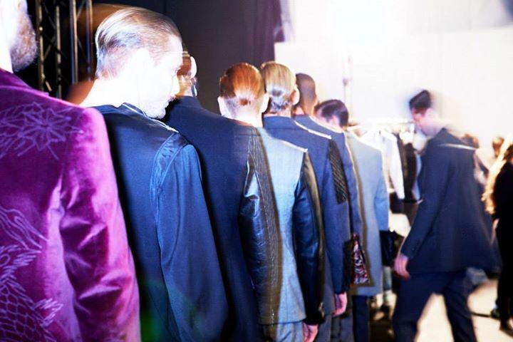 JOHN RICHMOND A/W16 backstage photo by: Mattia Kami Kaze for DREW editorial