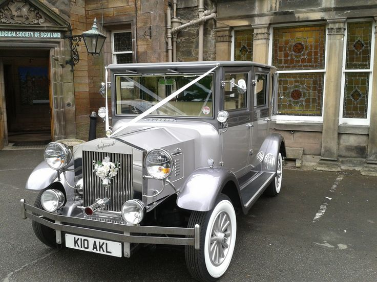 Arrive In Style With A Vintage Car Edinburghzoo