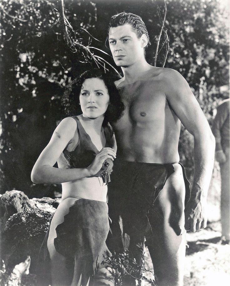 Johnny Weissmuller, Maureen O'Sullivan, 1934 My favorite Tarzan and Jane. Maureen is Mia Farrow's mother.