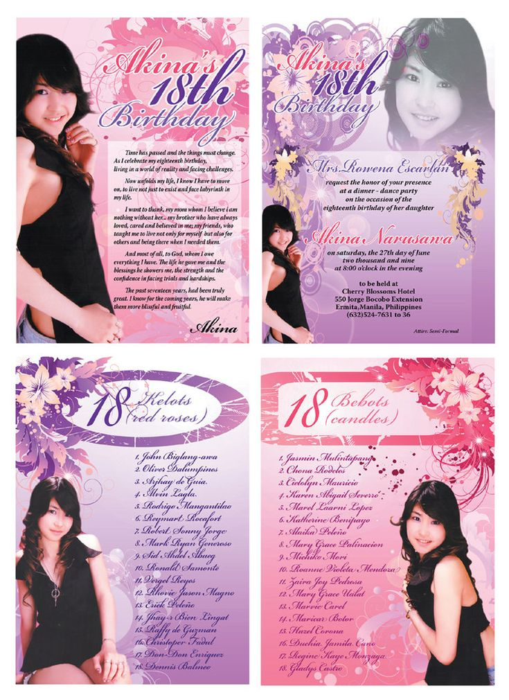 How to Select the 18th Birthday Invitations Free Templates