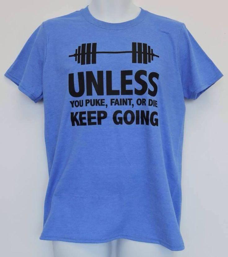 Women's funny fitness t-shirts.  Cunique.com