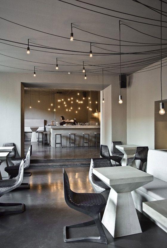 tin restaurant bar club berlin restaurant cool lighting and bar. Black Bedroom Furniture Sets. Home Design Ideas