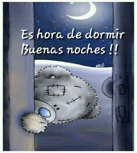 Buenas nochecitas!