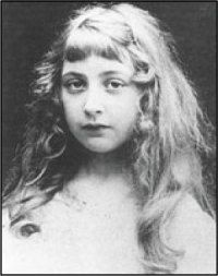 The little girl that would grow into one of the biggest crime fiction writers the world has ever known - Agatha Christie.