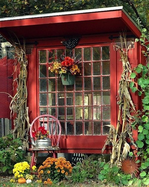This Small Backyard Guest House Is Big On Ideas For: 17 Best Images About Garden Shed On Pinterest