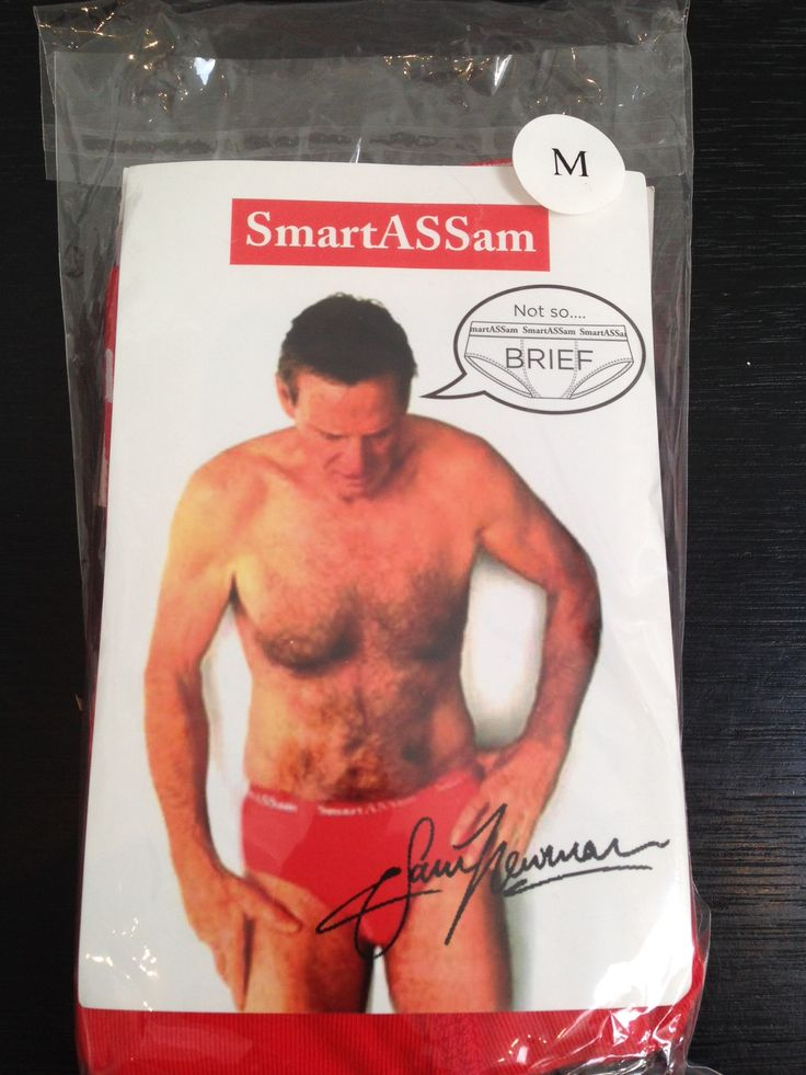 Flamboyant Aussie Rules legend and media personality Sam Newman has named his new underwear brand 'SmartASSam.' He's even chosen our company SAM's favorite colour for the fabric - which is bright red.  Nice to see someone take a leaf out of our book.  Good luck Sammy with the new brand from all at SAM Sales and Marketing (Port Melbourne).    PS. SmartASSam jocks on sale at Jerry's Milk Bar, Elwood.