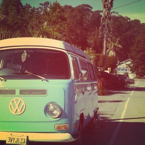 road trip   VW combi van