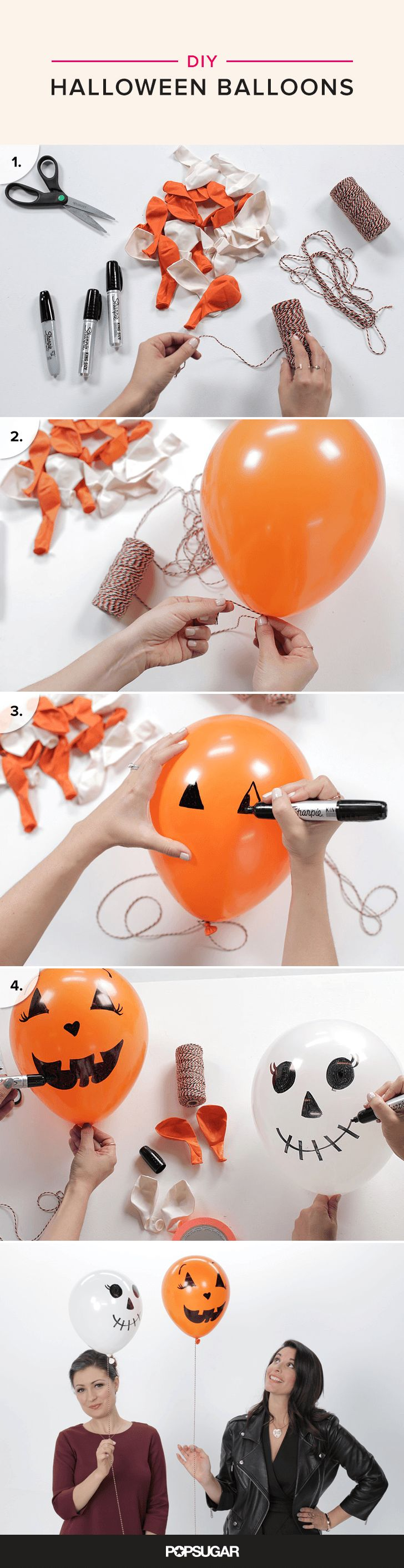 Diy halloween ghost3 - These Diy Halloween Balloons Are So Easy It S Scary