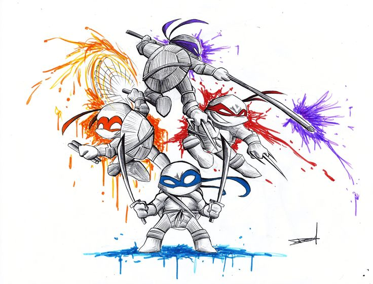Teenage Mutant Ninja Turtle by QuynzeL.deviantart.com on @deviantART