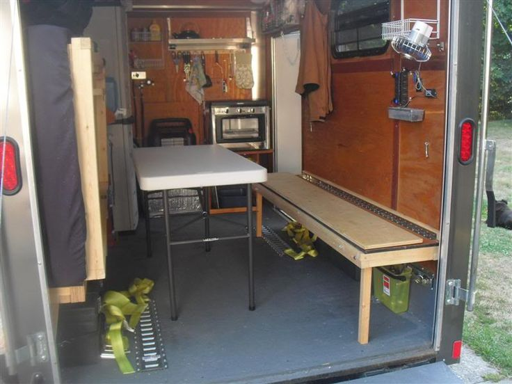 Fold Down Bed View Tiny Houses Or Cabins Cargo Trailer