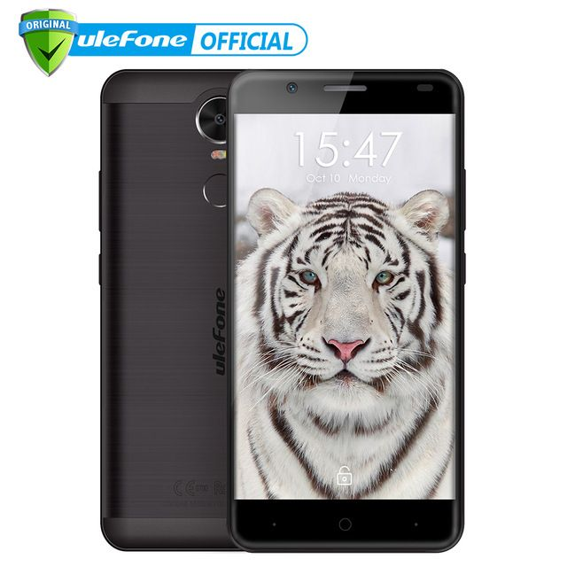 """Check lastest price Ulefone Tiger 4G Fingerprint ID Mobile Phone 5.5"""" HD MTK6737 Quad Core Android 6.0 2GB RAM 16GB ROM 8MP Big battery Smartphone just only $89.99 with free shipping worldwide  #mobilephones Plese click on picture to see our special price for you"""