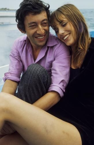 Serge Gainsbourg et Jane Birkin+