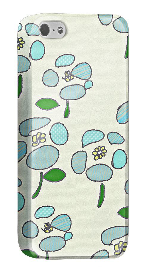 シンプルで繊細なカラーリングのレトロな花のiPhone5/5s用ケースです。オリジナルのアレンジもカンタンにできます。  http://originalprint.jp/ls/215255/d030f365d89c2dd8d0eda5a7bd936704358540ef