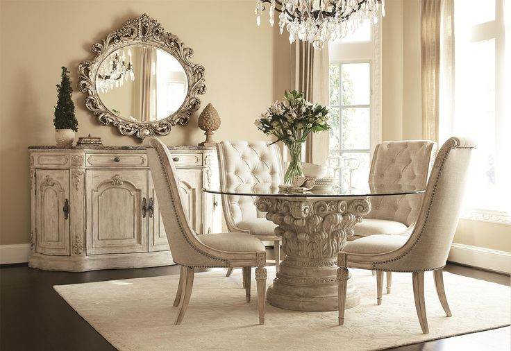 Jessica McClintock Home - The Boutique Collection Formal Dining Room Group by American Drew | Wolf Furniture