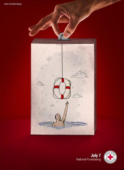 Red Cross: Donation, Sea