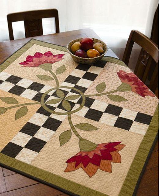Toalha de mesa flor
