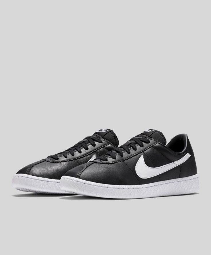 Nike Bruin Leather: Black/White